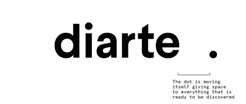 Nuevo logo de Diarte por Rebeka Arce
