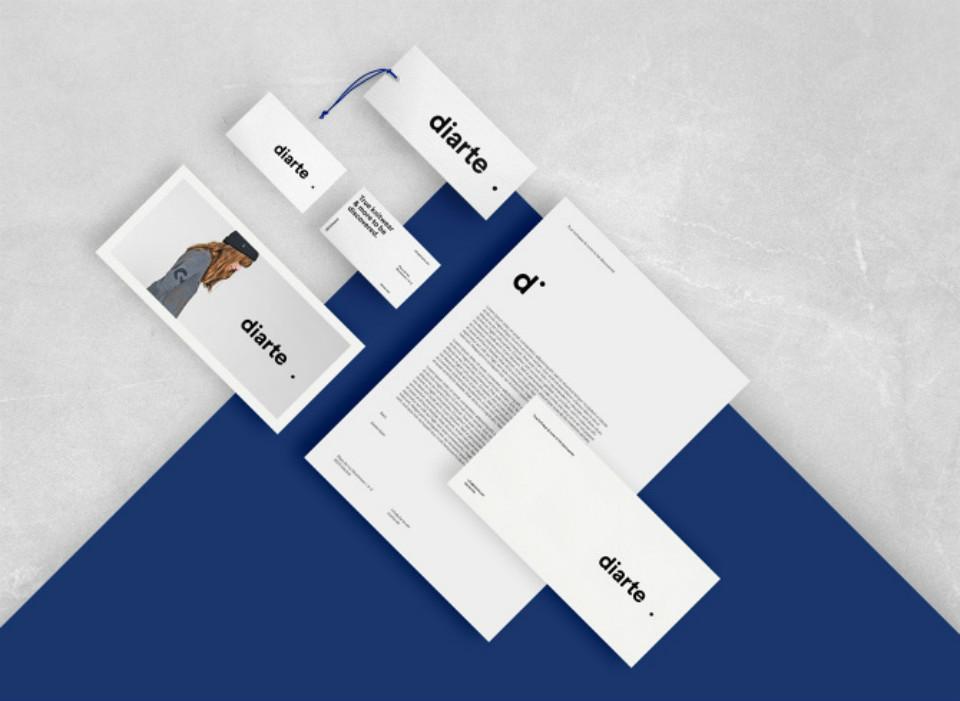 Nueva identidad visual de Diarte, diseñada por Rebeka Arce
