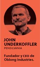 «El mundo necesita a diseñadores que arrojen la creatividad como una granada, y la cultiven como un jardín», John Underkoffler - PERFIL