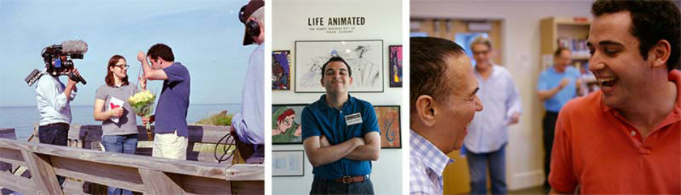 Making of del documental 'Life, Animated'