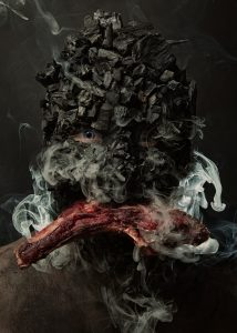 MEAT - MENU por Robert Harrison
