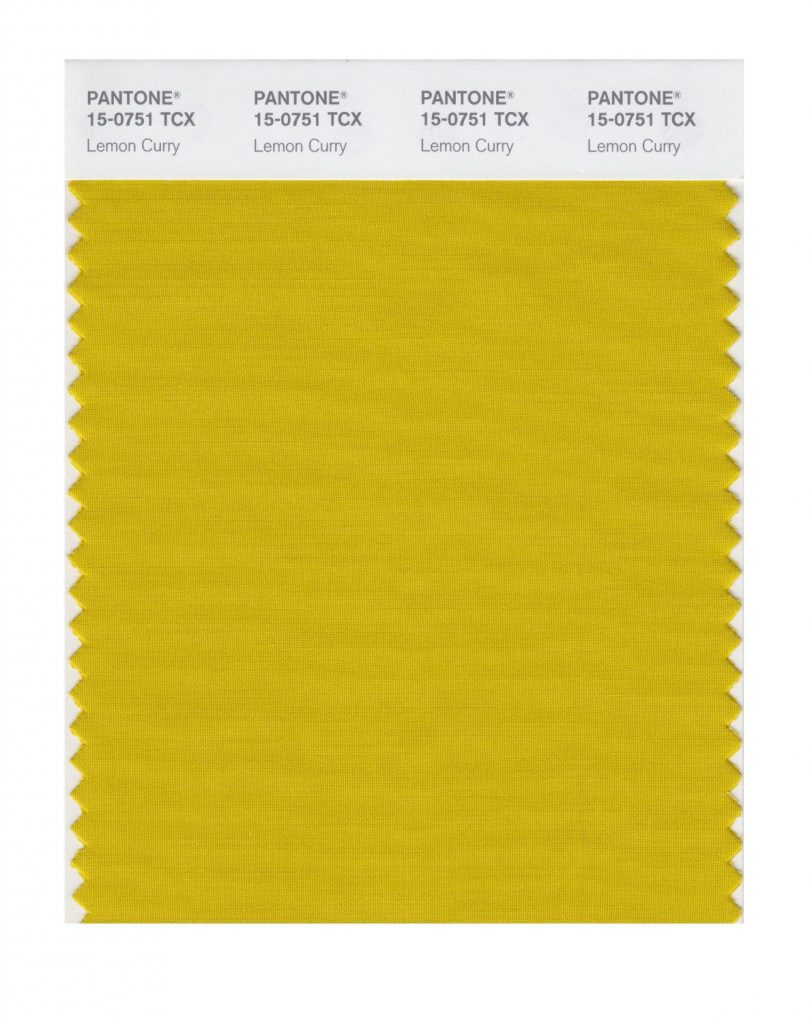 PANTONE 15-0751 Lemon Curry