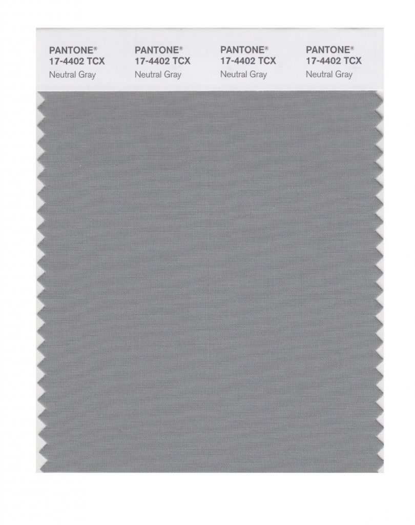 PANTONE 17-4402 Neutral Gray