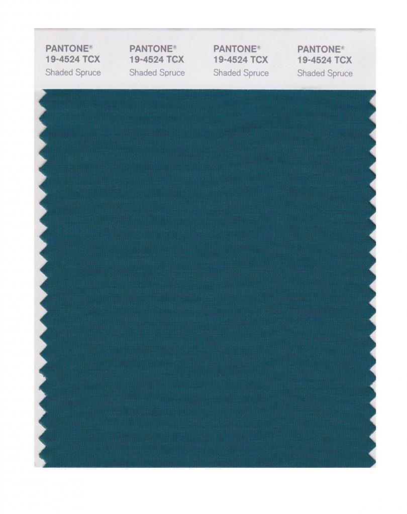PANTONE 19-4524 Shaded Spruce