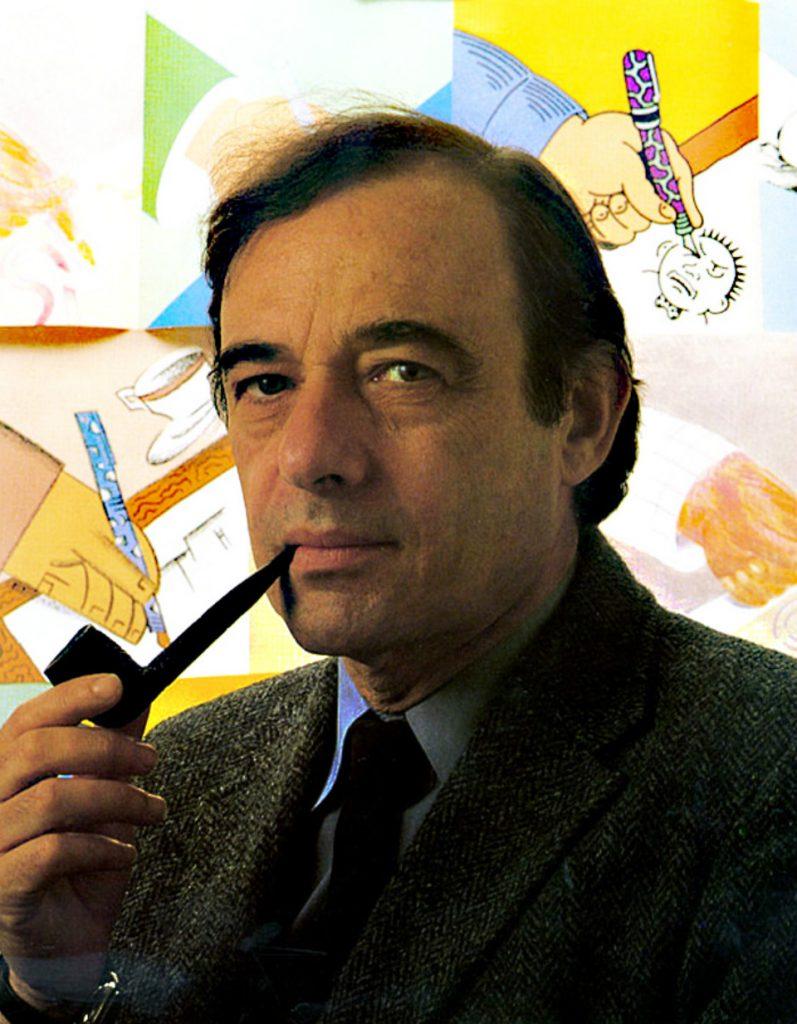 Retrato del artista Seymour Chwast