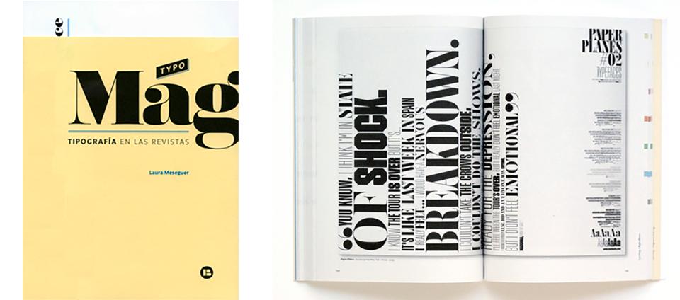 Typomag. Tipografía en las Revistas (Laura Meseguer. Index Book)
