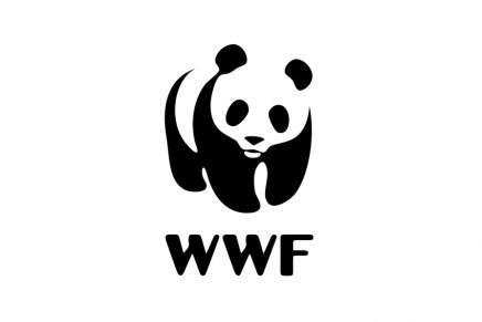 Grey London llama la atención sobre el cambio climático rediseñado el símbolo de WWF
