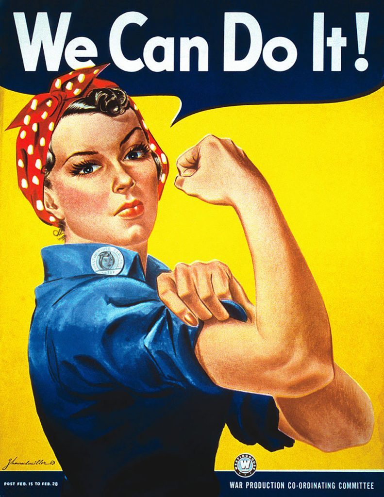 'We Can Do It!'
