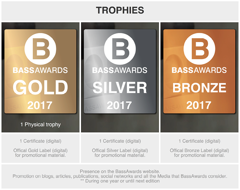 Bassawards 2017 abre convocatoria - premios