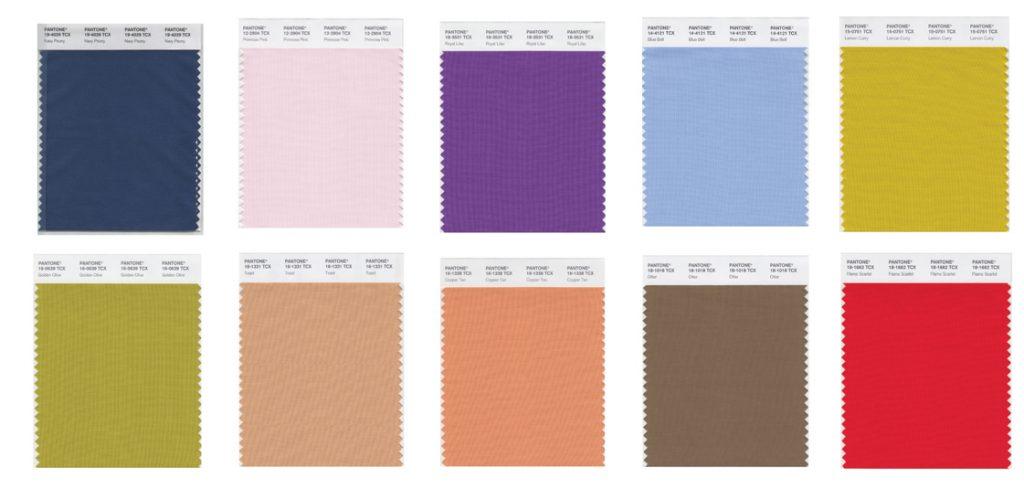 Pantone lanza la lista de los colores que serán tendencia el otoño de 2017 - Londres - colores tendencia en otoño 2017