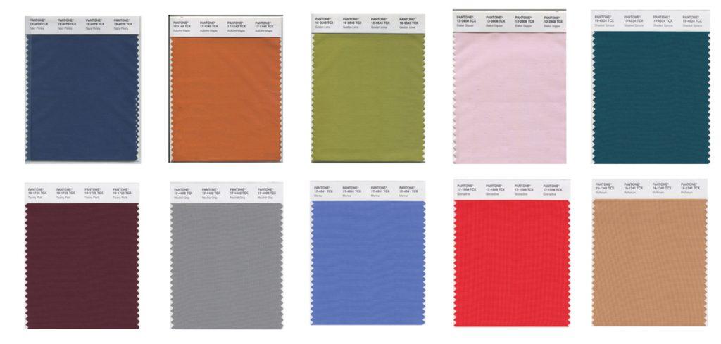 Pantone lanza la lista de los colores que serán tendencia el otoño de 2017 - Nueva York - colores tendencia en otoño 2017