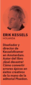 «La perfección no es un buen punto de partida para la creatividad», Erik Kessels - PERFIL