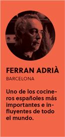«Si un cocinero quiere ser disruptivo, corre el riesgo de no ser entendido», Ferran Adrià - perfil