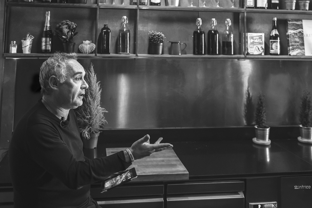 «Si un cocinero quiere ser disruptivo, corre el riesgo de no ser entendido», Ferran Adrià - 1