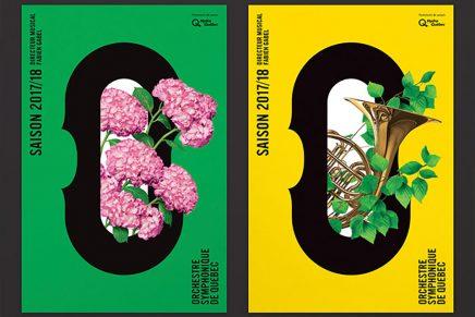 La agencia canadiense Lg2 diseña el nuevo logo de la Orquesta Sinfónica de Québec
