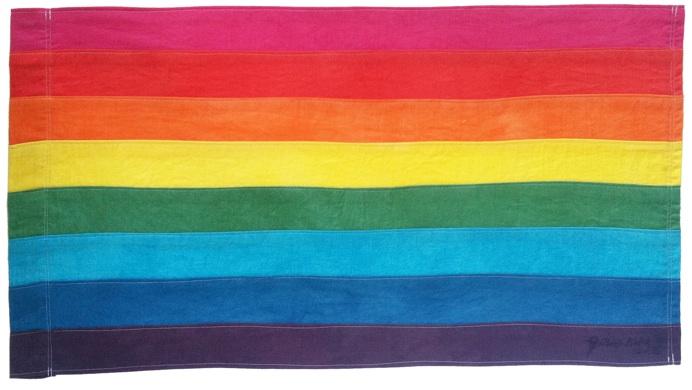 Bandera LGTB Gilbert Baker