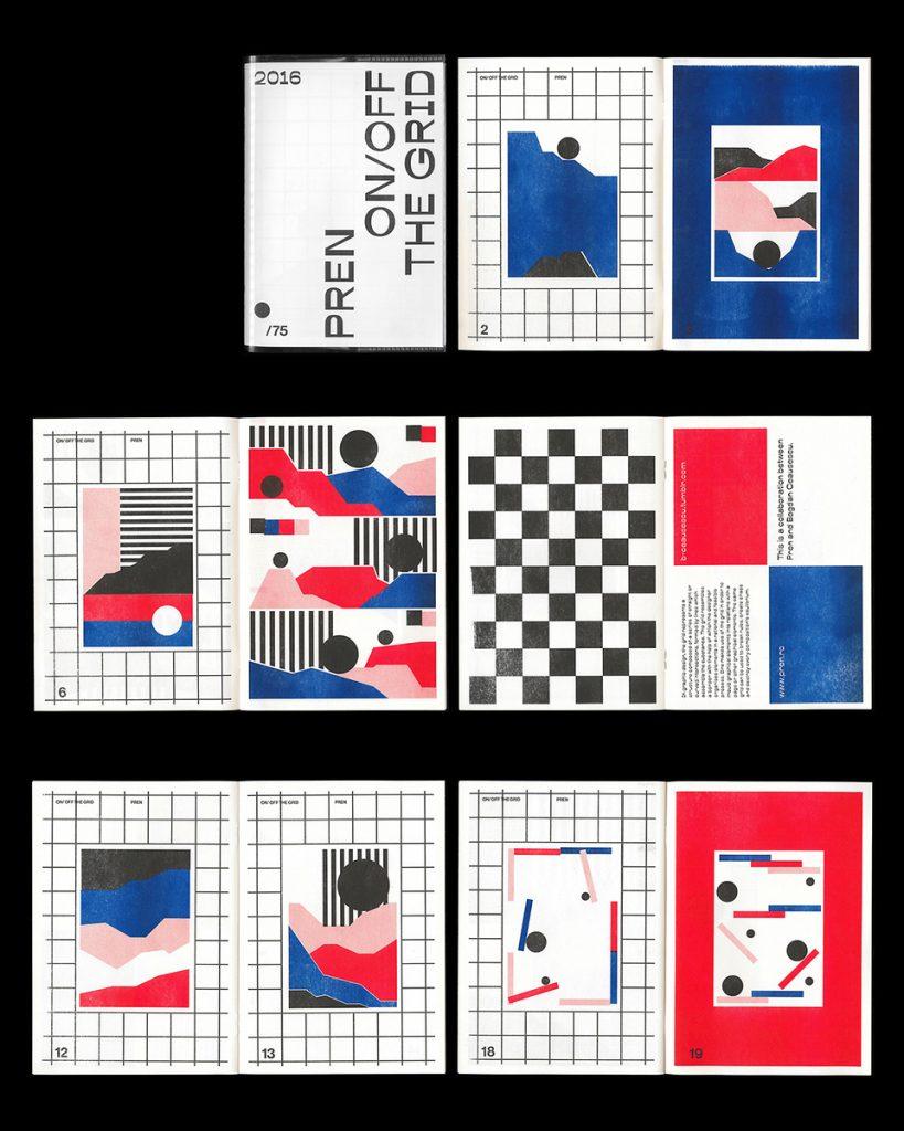 Collage páginas fanzine 1