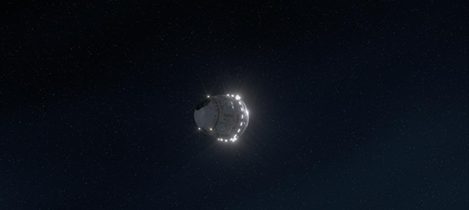 Nave espacial con la que se irá a Marte (Black Holes)