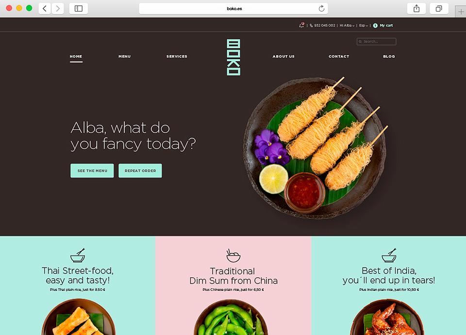 Boko Asian Gourmets Web Ordenador 08