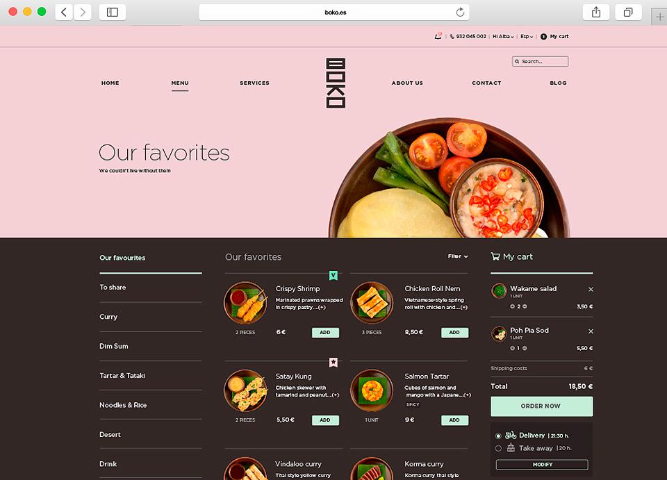 Boko Asian Gourmets Web Ordenador P2 09