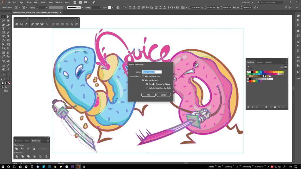 trucos Illustrator por Juicefoozle - 10