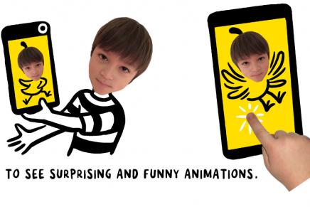 CHOMP, la app de cuentos interactivos que combina animación y grabación de vídeo