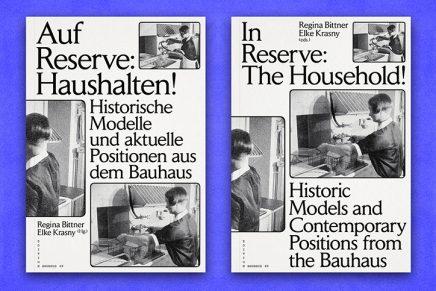 'In Reserve: The Household!': un libro inspirado en Bauhaus y el arte de la economía doméstica