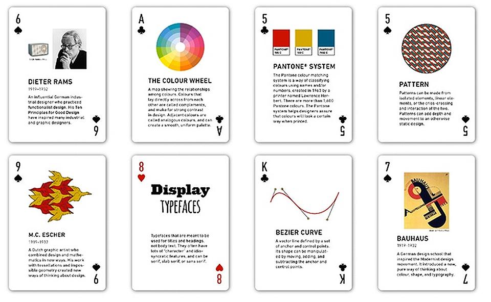 Juegos de cartas The Design Beck 05