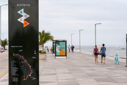 5 kilómetros de identidad visual: así es la nueva señalética de Distrito Boca