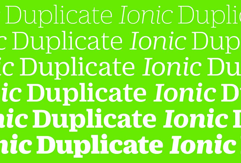 Duplicate Ionic 04