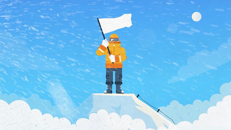 Book Universe - esquiador 01