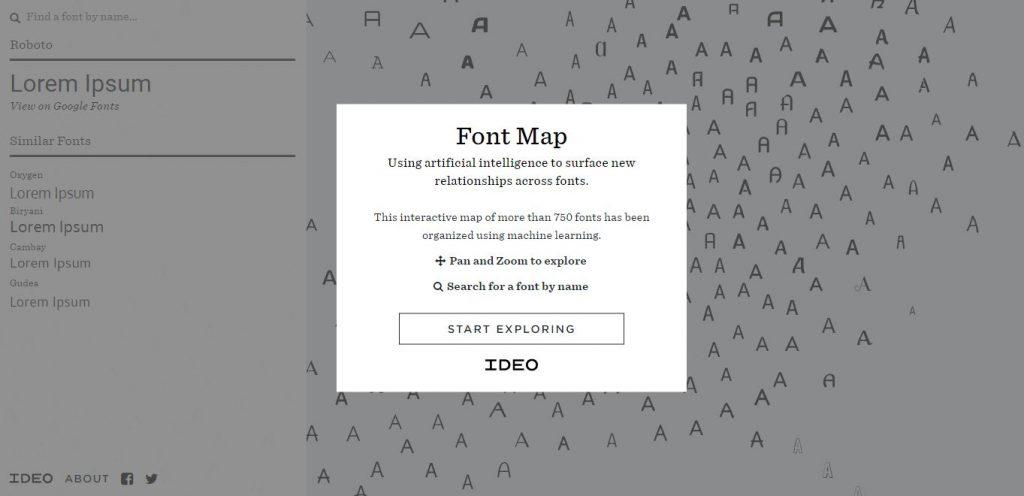 Font Map 3