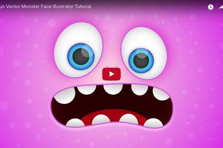 Crea una divertida cara de monstruo con este video tutorial