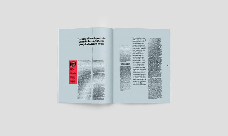 Revista Graffica 5 Propiedad intelectual Op