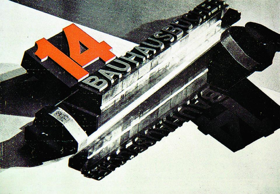 Libros de los programas Bauhaus en '500 Designs that Matter'