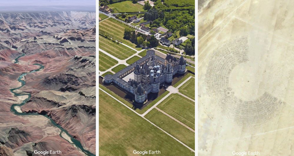 Postales para compartir desde Google Earth