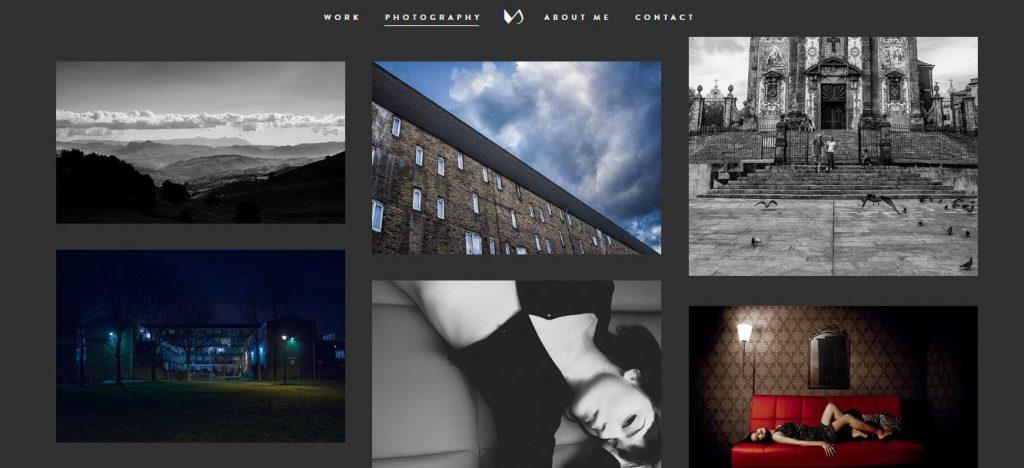 Cómo crear portfolio atractivo Vito Salvatore portfolio