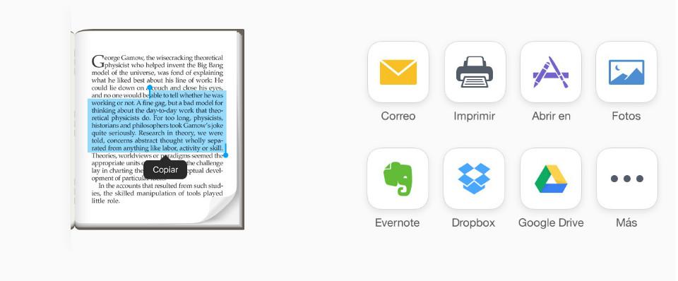 App de escáner que integra OCR y permite guardar, imprimir