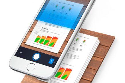 De móvil a escáner portátil, con la app Scanner Pro