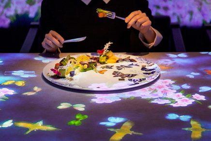 TeamLab y Sagaya: la unión de la gastronomía, el arte y el mundo digital