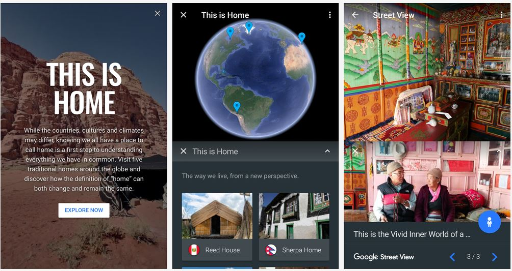 'This is home', nueva herramienta de Google Earth