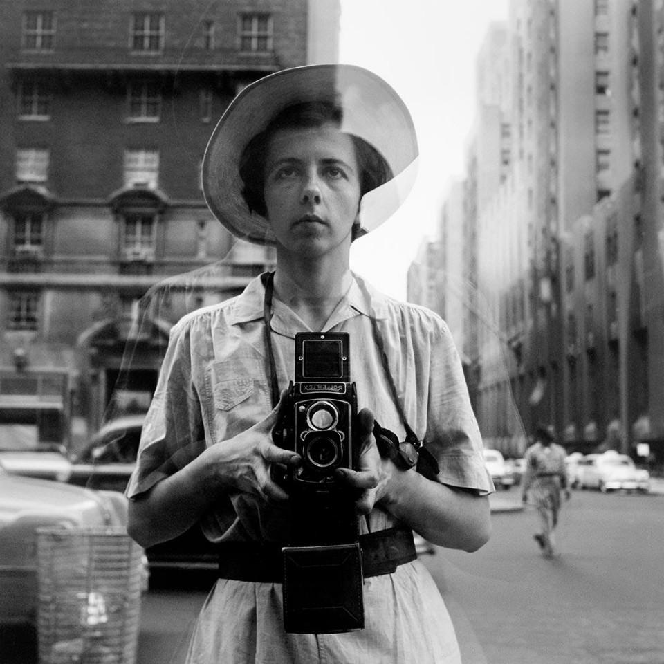Autorretrato de la fotógrafa Vivian Maier