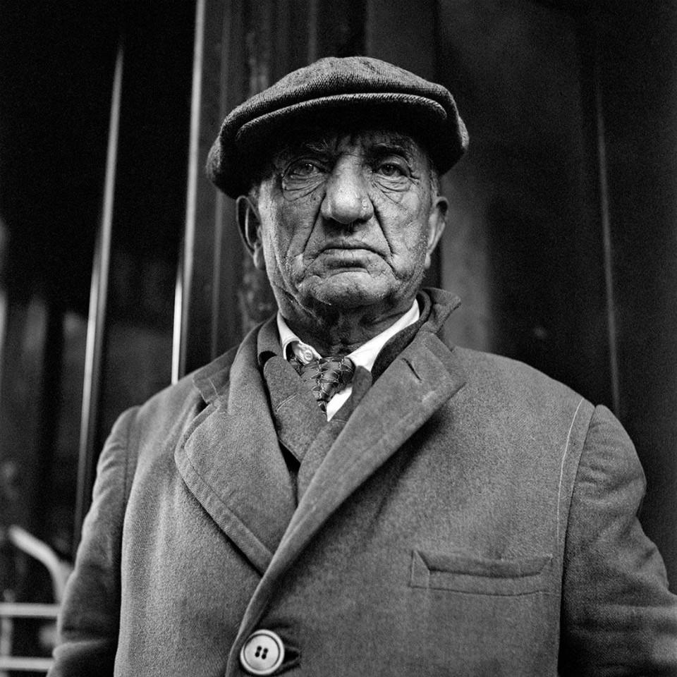 Retrato señor estadounidense, por Vivian Maier