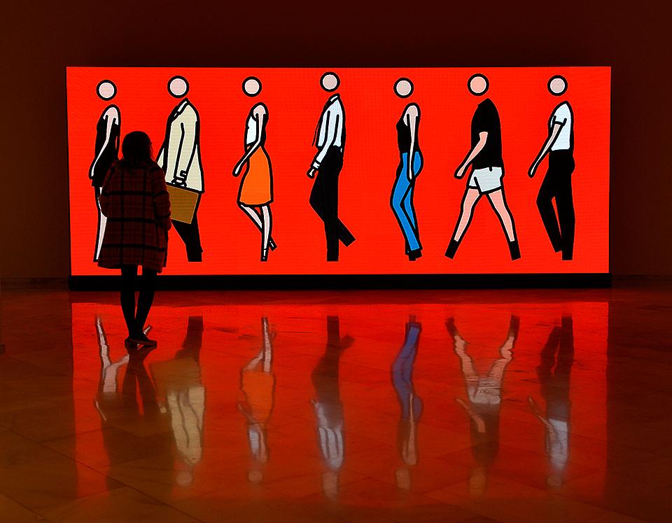 Qué hacer este fin de semana El minimalismo simbólico de Julian Opie en la Fundación Bancaja 02