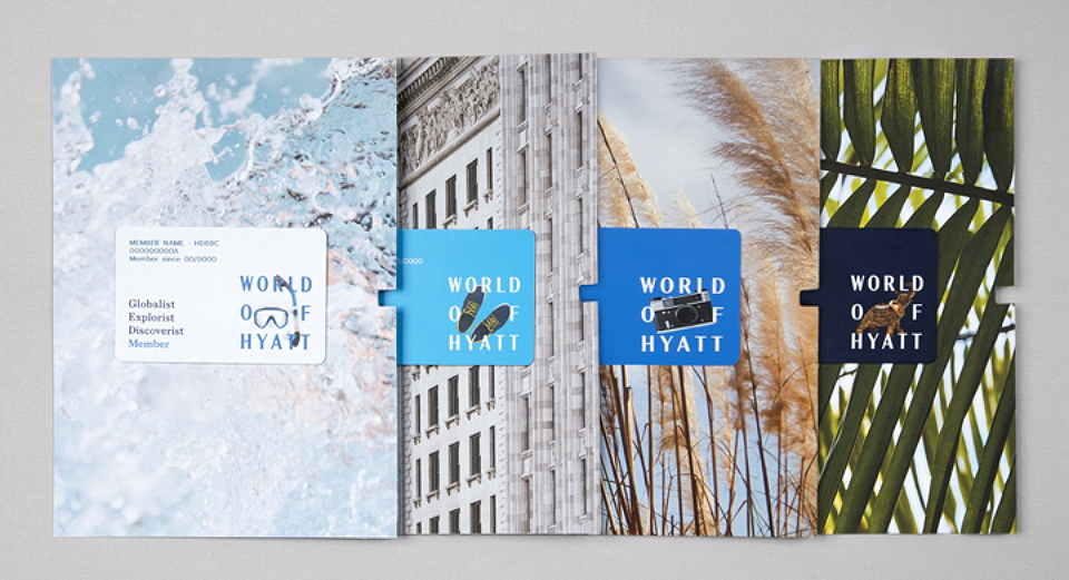 Wolff Olins presenta la identidad de World of Hyatt - 2