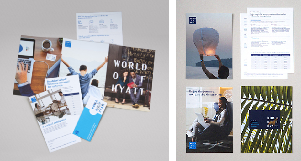 Wolff Olins presenta la identidad de World of Hyatt - 3