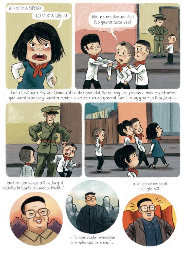 Mélanie Allag ilustra 'El cumpleaños de Kim Jong-il'
