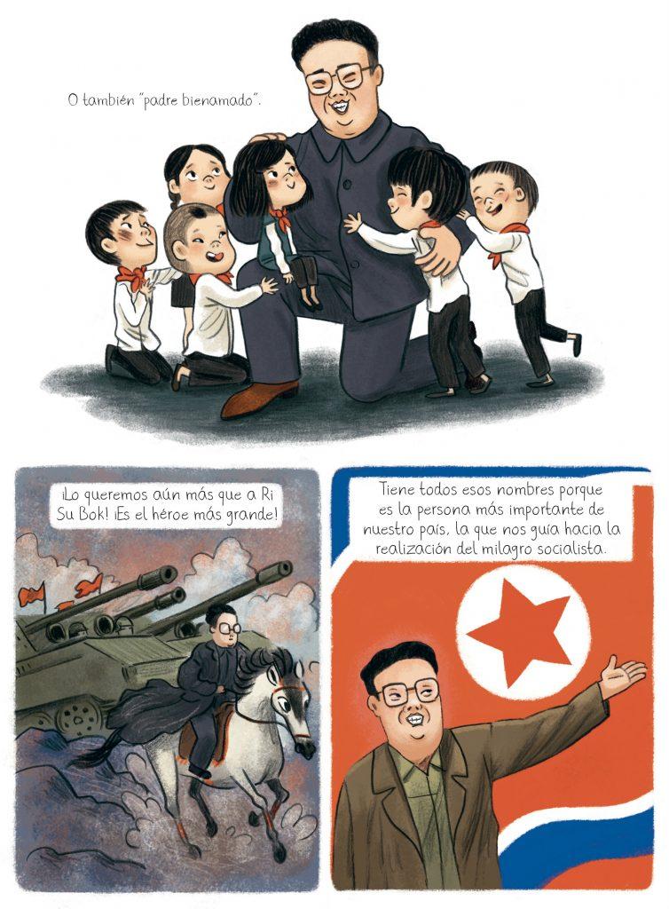El cumpleaños de Kim Jong-il, libro que habla sobre el régimen norcoreano a través de la mirada de un niño