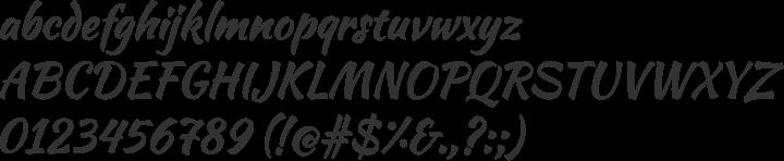 Tipografía Kaushan Script de descarga libre y gratuita en Font Squirrel