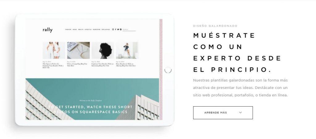 Cómo crear portfolio atractivo portfolio squarespace